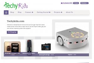 New Techykids.com Homepage