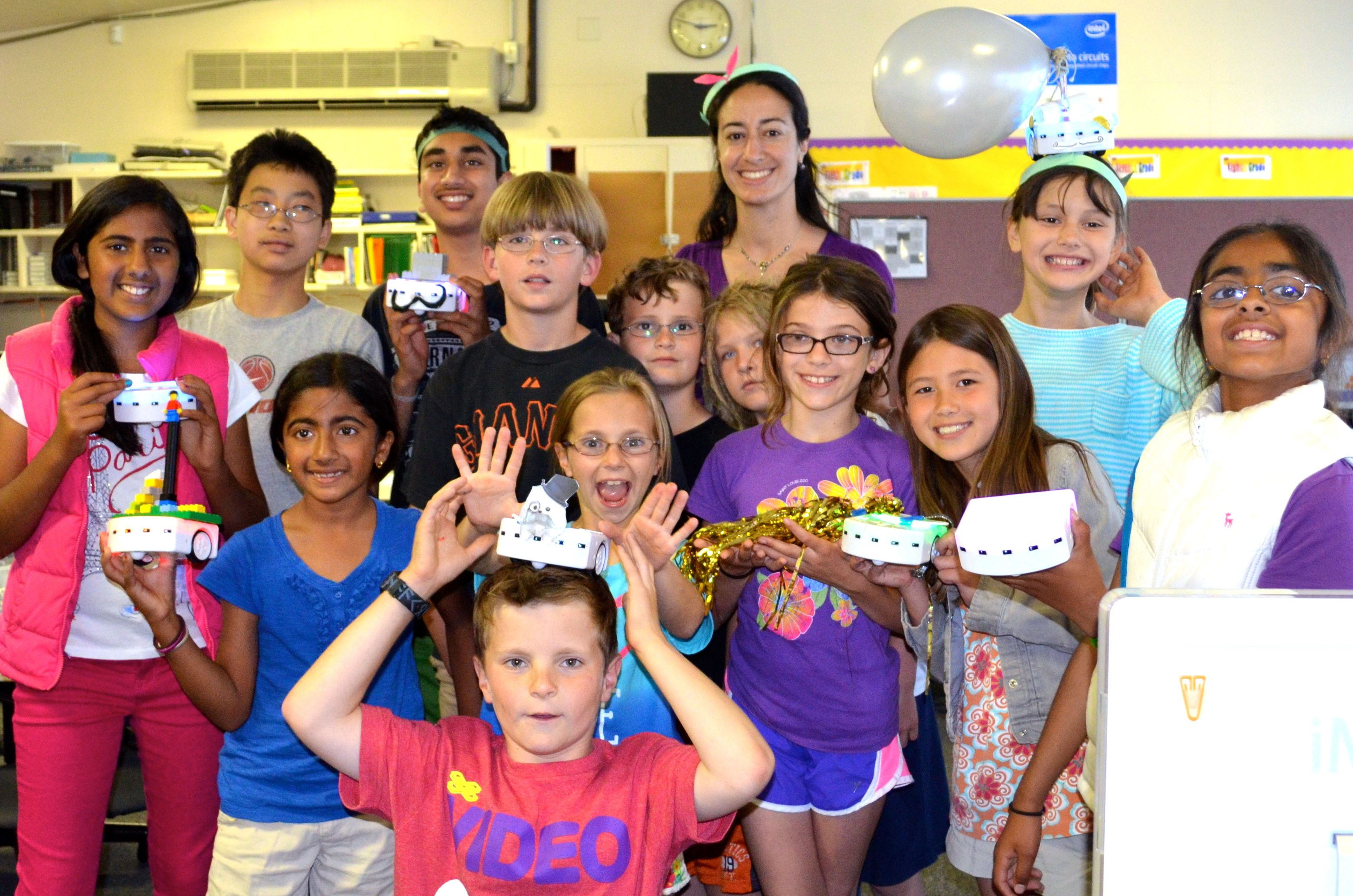 Thymio Robotics summer camp