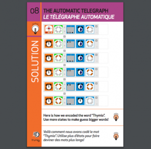 thymio activity card
